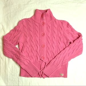 Polo Ralph Lauren vintage Pink Chunky Sweater